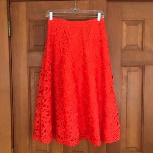 Banana Republic Lace Skirt Size 0